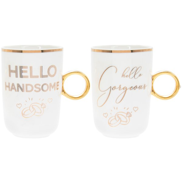 GORG & HANDSOME RING MUGS 2S