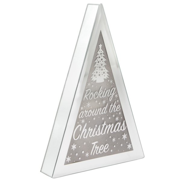 XMAS TREE LED TRIANGLE SMALL