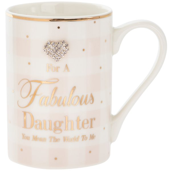 MAD DOTS FAB DAUGHTER MUG