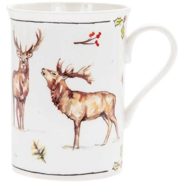 WINTER STAGS MUG