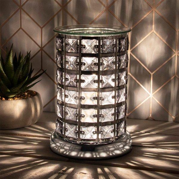 DESIRE AROMA LAMP SILVER&BLACK