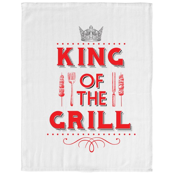 KING OF GRILL TEA TOWEL