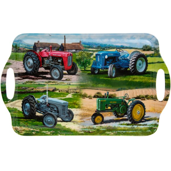 TRACTORS LARGE TRAY
