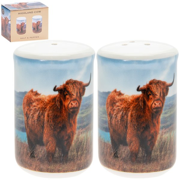 HIGHLAND COW SALT & PEPPER