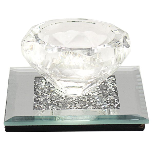 MULTI CRYSTAL TEA LIGHT HOLDER