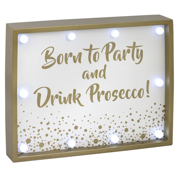PART & PROSECCO LED SIGN