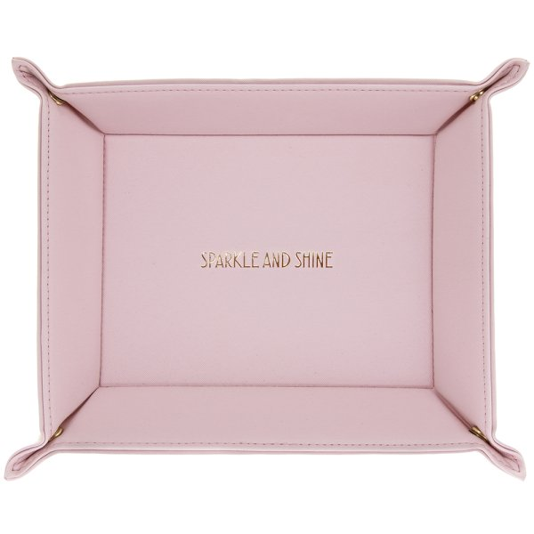 SHINE BRIGHT PINK TRAY