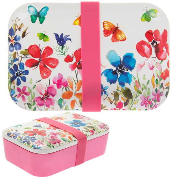 B FLY MEADOW BAMBOO LUNCH BOX