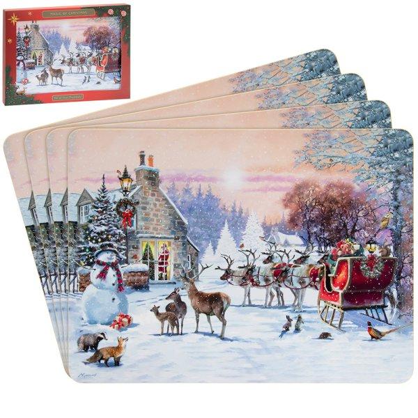 MAGIC OF CHRISTMAS PLMATS S4