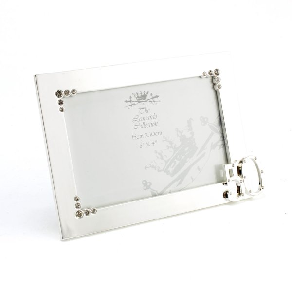 SILVER PLATED FRAME 50TH