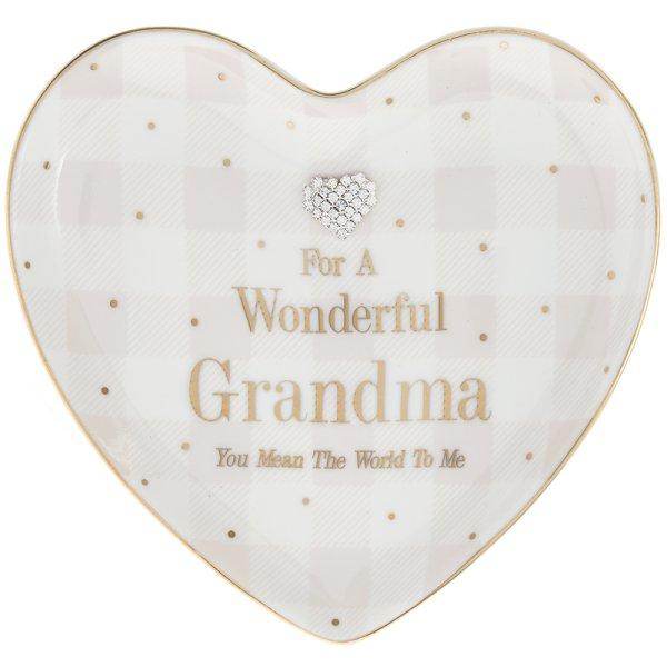 MAD DOTS GRANDMA HEART DISH