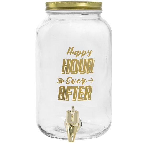 DRINKS DISPENSER HAPPILY EVER