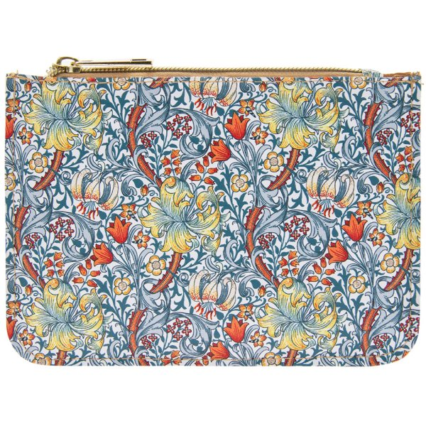 GOLDEN LILY PURSE