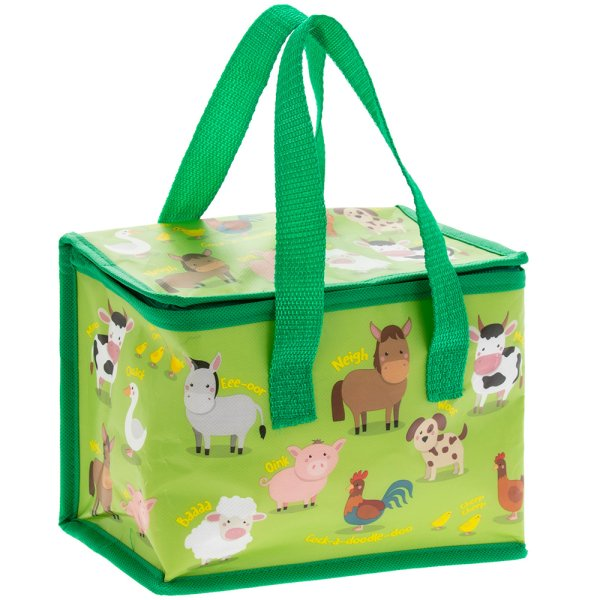 FARMYARD ANIMALS LUNCHBAG