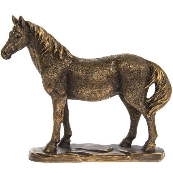 REFLECTIONS BRNZED HORSE