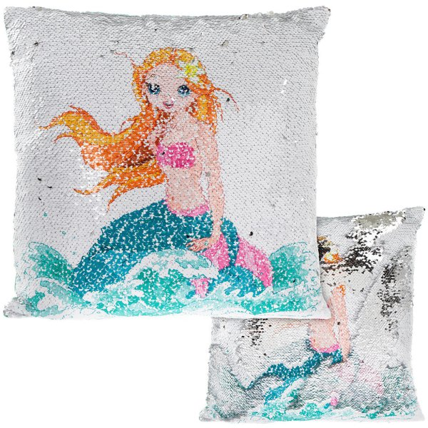 MERMAID SEQUIN CUSHION