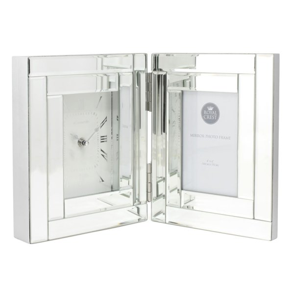MIRROR CLOCK & FRAME