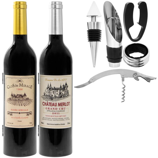 WINE CONNOISSEUR SET 2 ASST
