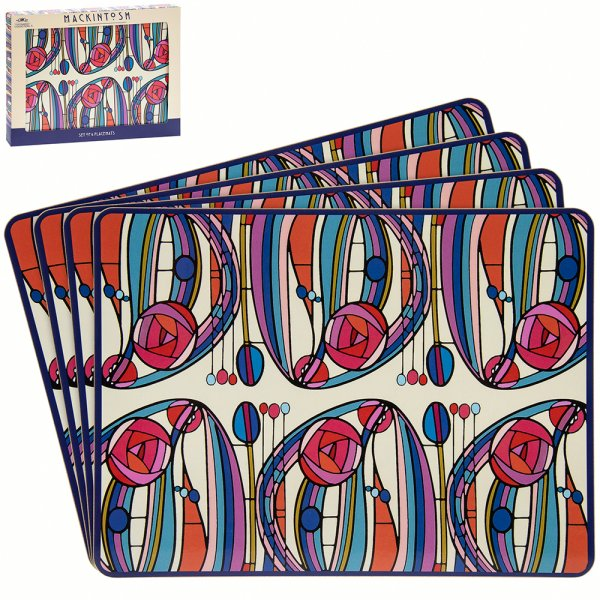 MACKINTOSH PLACEMATS SET OF 4