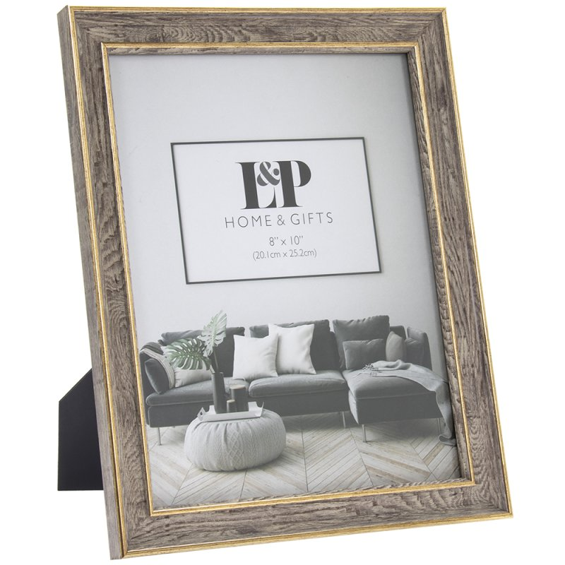 GOLD DUO PHOTO FRAME 8X10