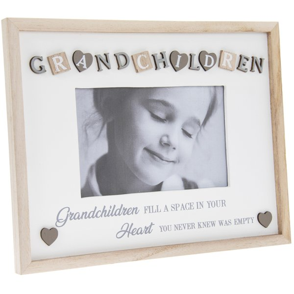 SENTIMENTS FRAME GRANDCHIL4X6""