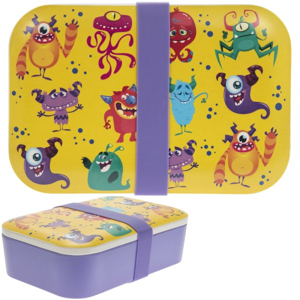 BAMBOO MONSTERS LUNCH BOX