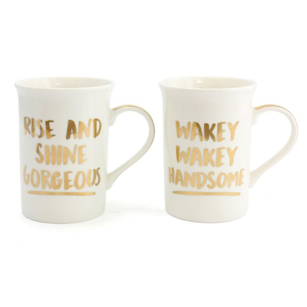 GORG & HANDSOME MUGS 2 SET