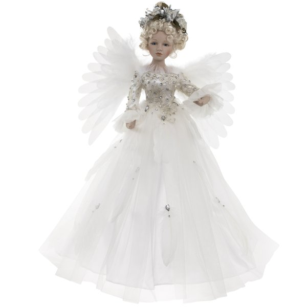 ANGEL MOVING WHITE 24""