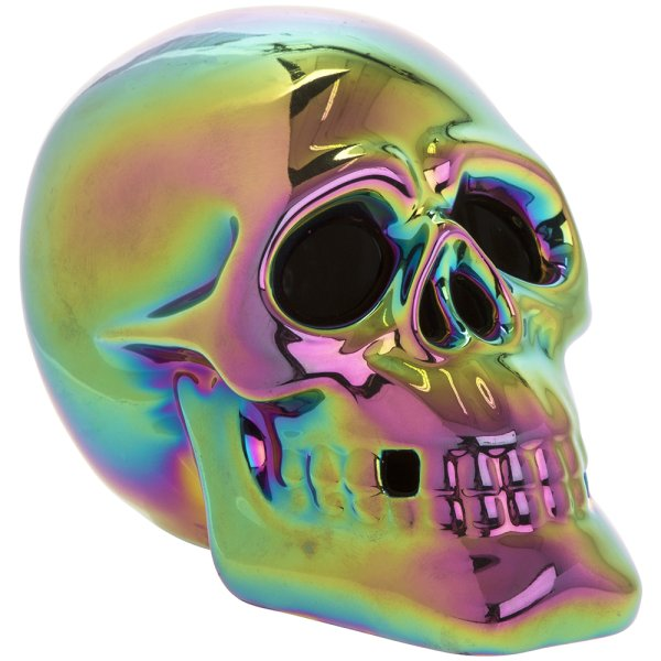 METALLIC ART SKULL LED