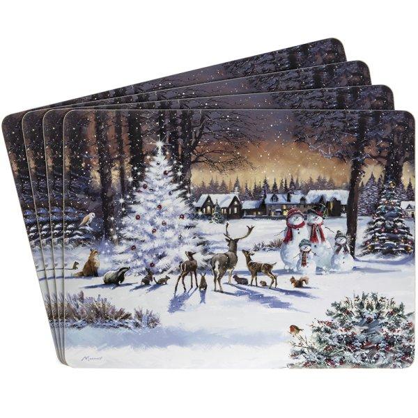 MAGIC CHRISTMAS PLACEMATS S4