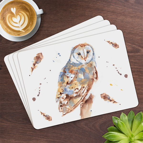 COUNTRY LIFE OWL PLACEMATS S4