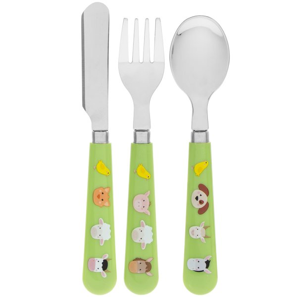 LITTLE STARS FARMYARD CUTLERY