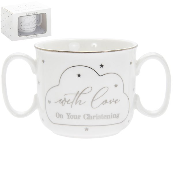 MAD DOTS CHRISTENING DBL H MUG