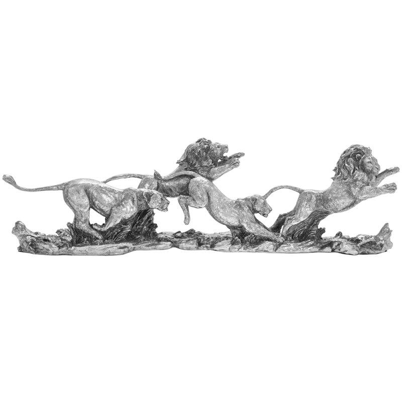 SILVER ART LIONS