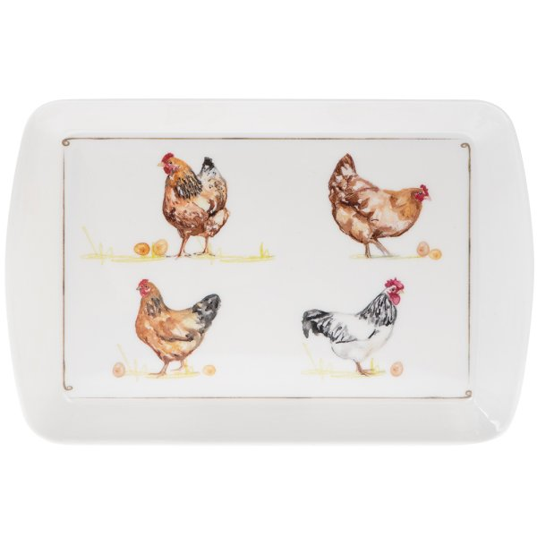 CHICKENS TRAY SML
