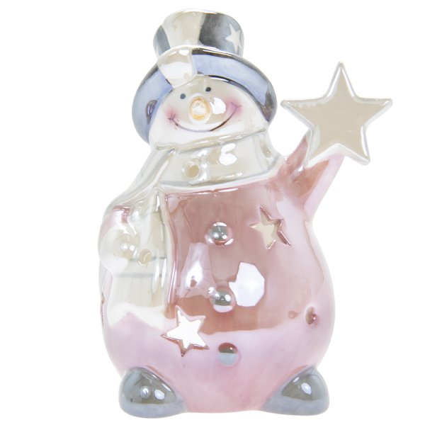 SNOWMAN WITH STAR S