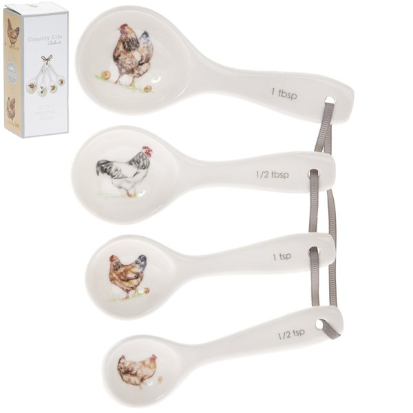 CHICKENS MEASURING SPOONS S4