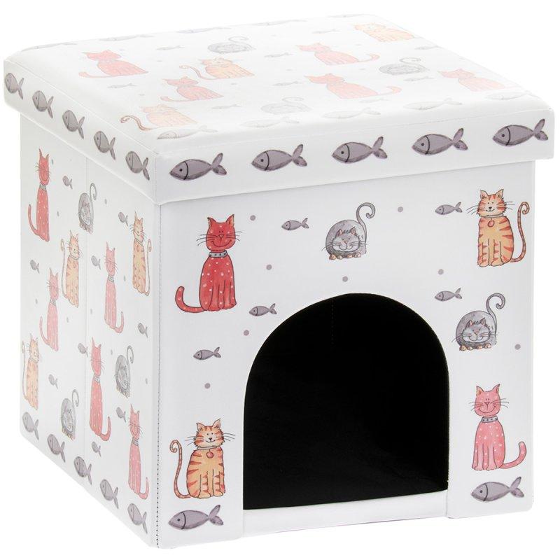 FAITHFUL FRIENDS CAT PET BOX