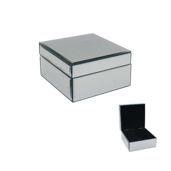 MIRROR JEWELLERY BOX SML