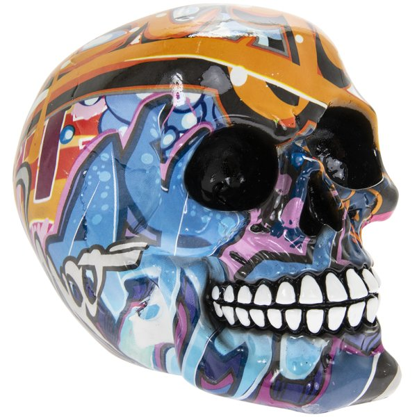 GRAFFITI ART SKULL S