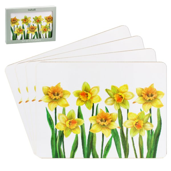 DAFFODIL PLACEMATS 4 SET