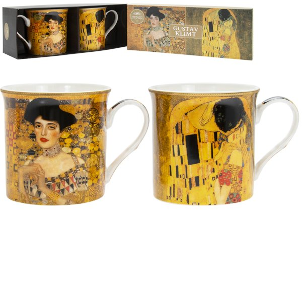 GUSTAV KLIMT MUGS SET OF 2