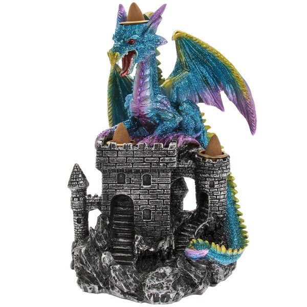 INCENSE BURNER DRAGON CASTLE