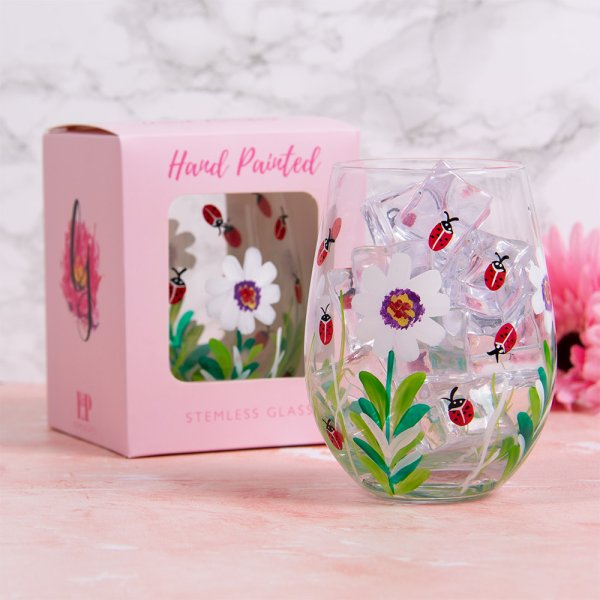 LADYBIRDS STEMLESS GLASS