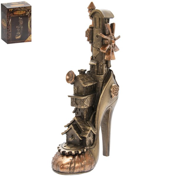 STEAM PUNK HIGH HEEL SHOE