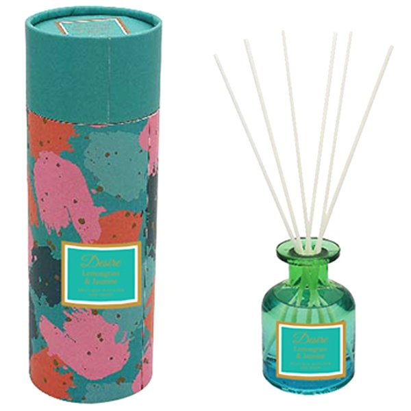 TEAL GLASS DIFFUSER 100ML