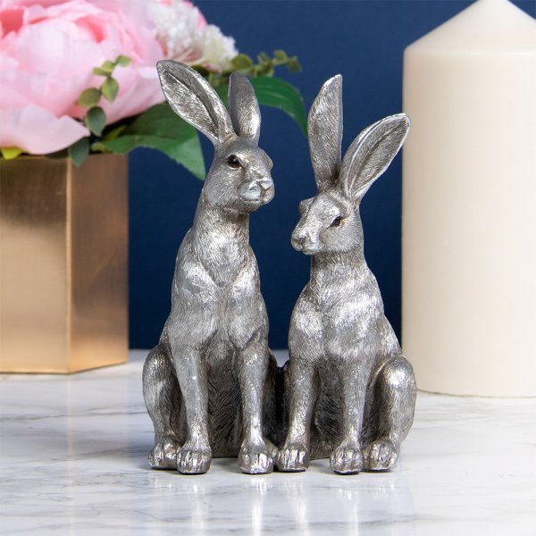 SILVER TWIN HARES
