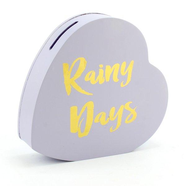 RAINY DAYS HEART SHAPE BOX