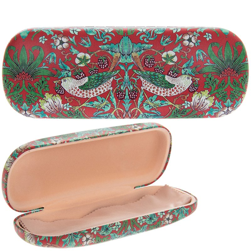 S'BERRY THIEF GLASSES CASE RED