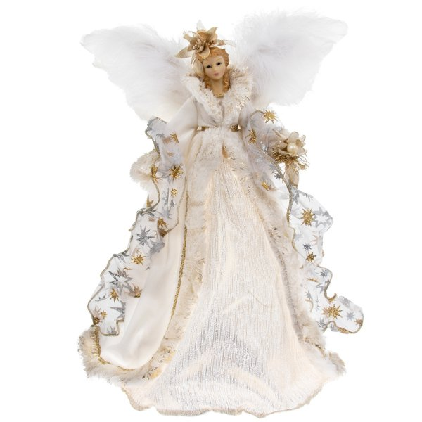 ANGEL TREE TOP GOLD 16""